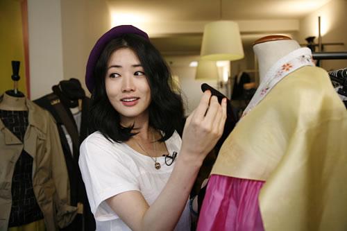 《七公主》崔贞媛在比利时变身服装设计师
