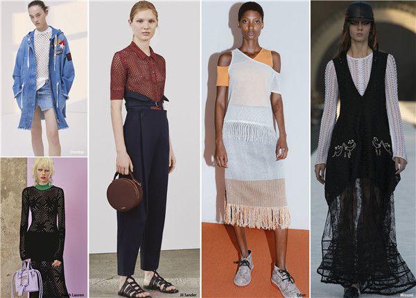 2018春夏女装针织毛衫流行趋势-服装设计新闻-环球
