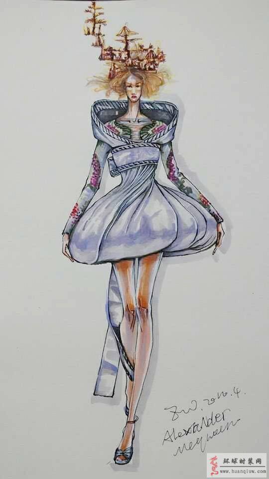 zw-原创手绘服装设计图