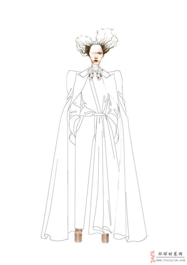 ZW原创服装设计作品-女装设计图-ZW