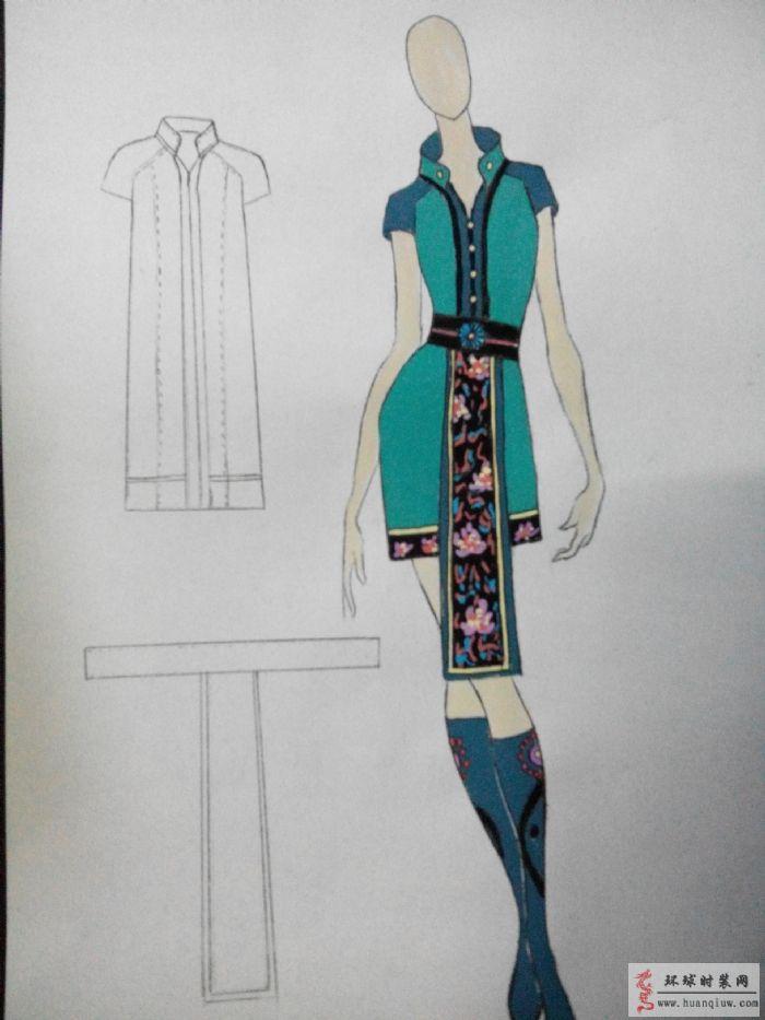 苗族迎宾2-原创服装设计作品-环球时装网
