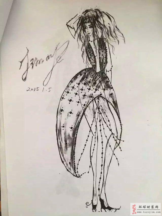 j米p的作品-原创服装设计作品-环球时装网