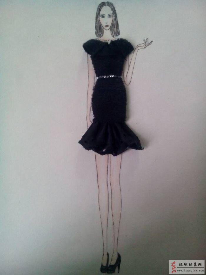 创手绘服装设计图