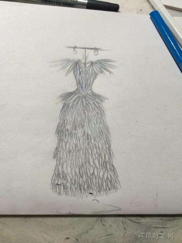 t.j原创手绘服装设计图