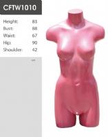 时尚糖果色无头半身女模CFL1090