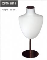 高档包布颈模,珠宝饰品展示道具CFL99-1