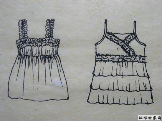 女装-吊带设计图 - 原创服装设计作品 - 环球时装网