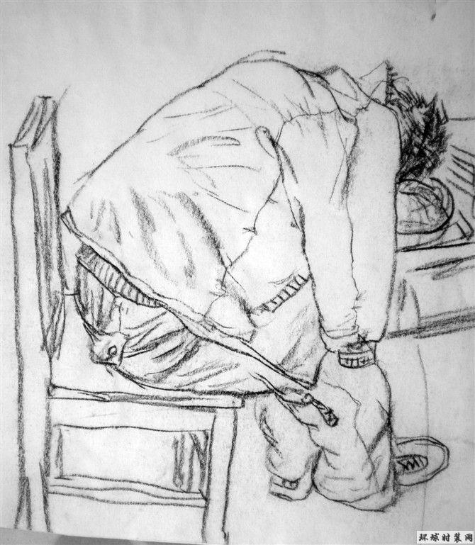 肖像素描之速写人物