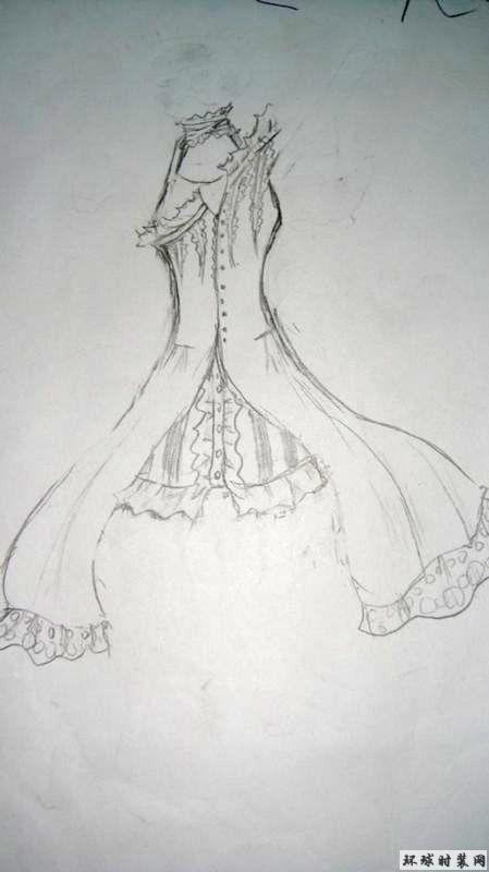 晚礼服-原创服装设计作品-环球时装网