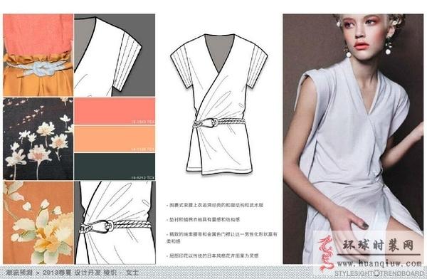 时装款式图_1317512 - 时装设计师作品-时装周-时装秀