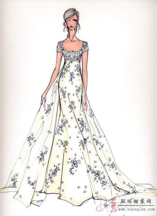 婚纱手绘设计图 全屏显示 下载无水印版(   浏览(46) 婚纱手绘设计图